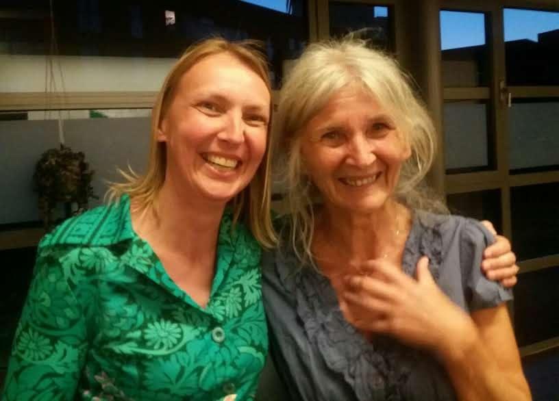 Katleen en Gertie